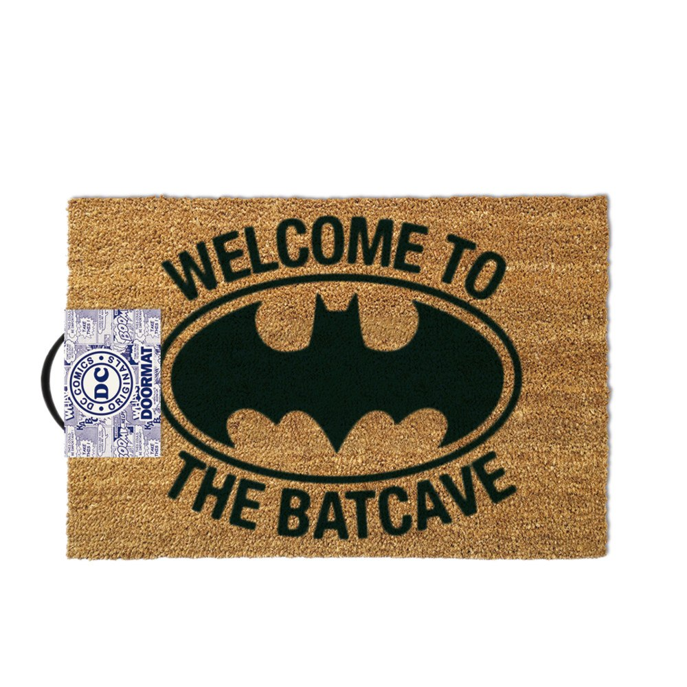 "Batman-dörrmatta  ""Welcome to the Batcave"""