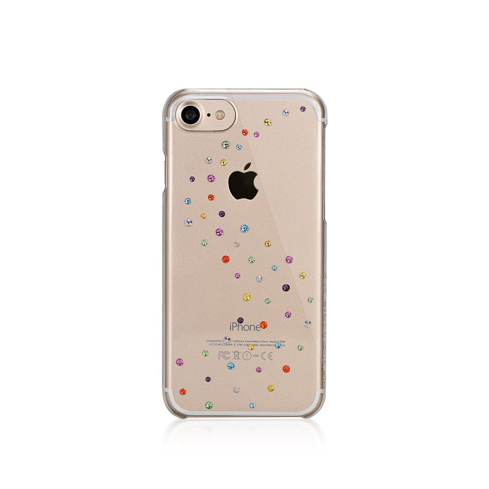 "iPhone 7 skal ""Cotton Candy"" med Swarovski® Kristaller"