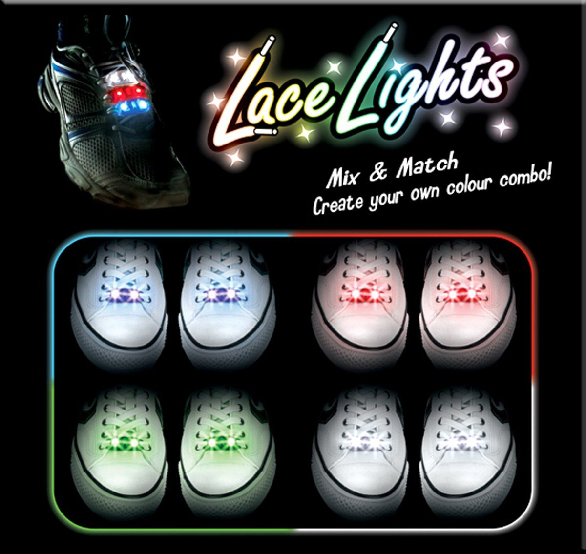 Lace Lights  LED skobelysning