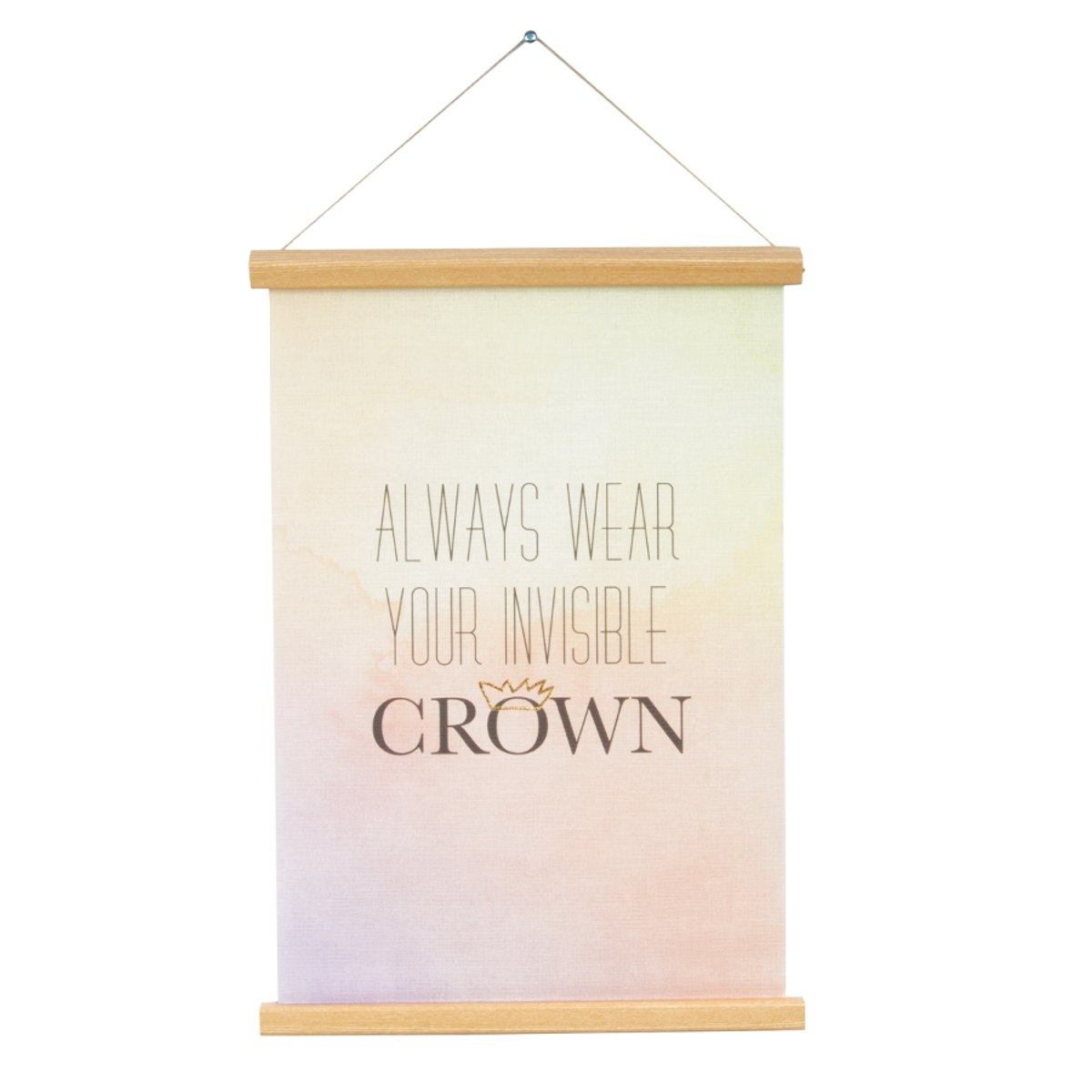 Poster Canvas - Always wear…