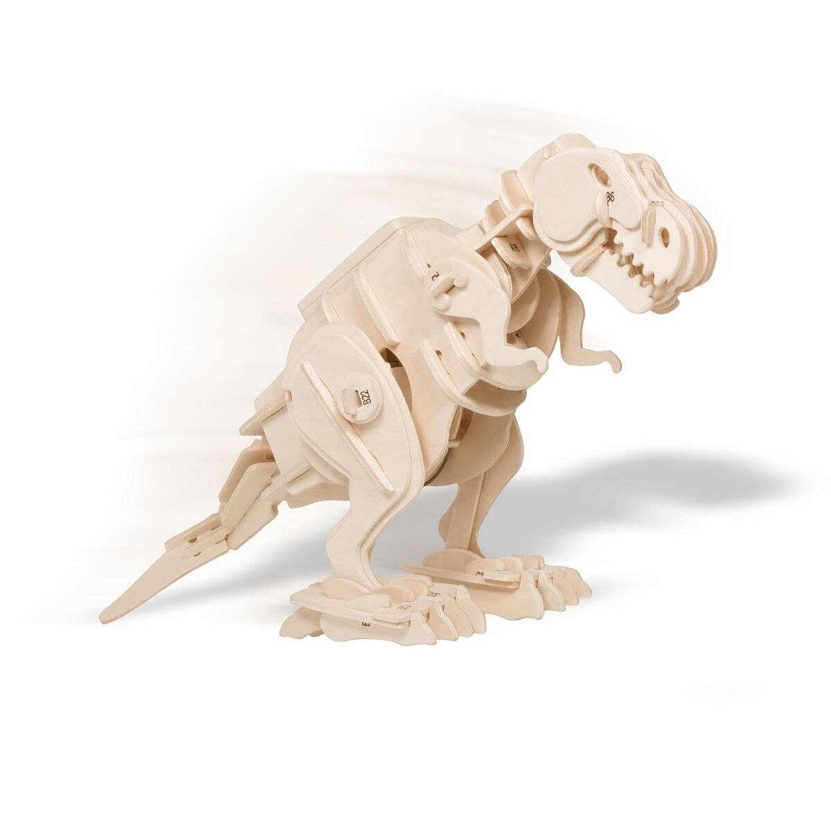 Walking T-Rex - Funktionsmodell aus Holz