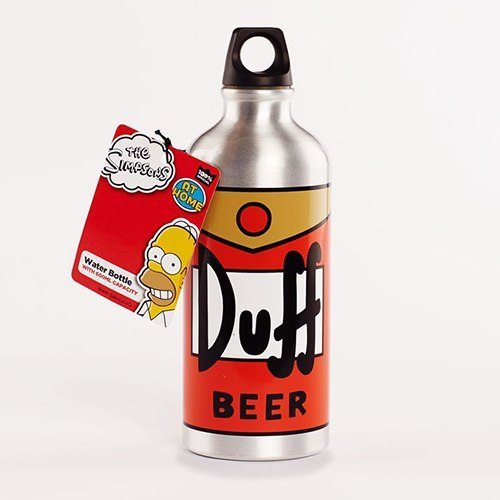 Vattenflaska The Simpsons Duff Beer