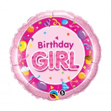 """Birthday girl"" ballong"