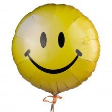 Heliumballong smiley
