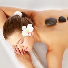 Hot stone massage - Gimo