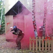 Paintball, Dagskort - Tungelsta