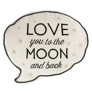"Kudde ""Love you to the moon and back"""