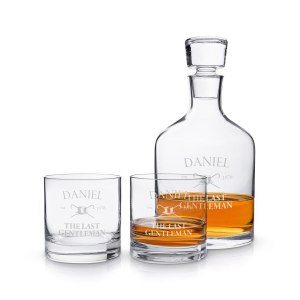 Leonardo: Luxuriöses Whisky-Set mit Gravur