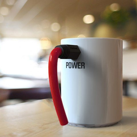 Power- mugg med strömkabel